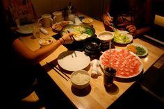 Japanese food is the best - Shabu shabu in Osaka, Japan