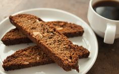 Recipe: Spent Grain Chocolate Almond Biscotti
