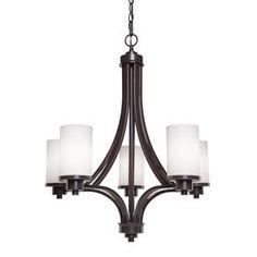 Artcraft Lighting Parkdale 5-Light Oil Rubbed Bronze Standard Chandelier