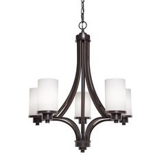 Artcraft Lighting Parkdale 5-Light Oil Rubbed Bronze Standard Chandelier