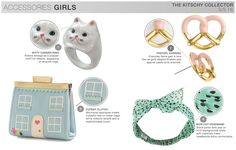 s/s girls trend theme, the kitschy collector, accessories