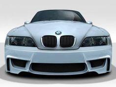 Duraflex - BMW Z3 Duraflex 1M Look Front Bumper Cover - 1 Piece - 109531