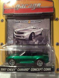 greenlight green machine Chevy Camaro #GreenLight #Chevrolet