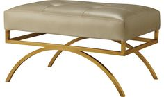 Architectural and sculptural, the Arc Bench provides a firm seat on which to perch. An easy addition to any room to offer more seating - end of the bed, in front of the fireplace or floating in a room