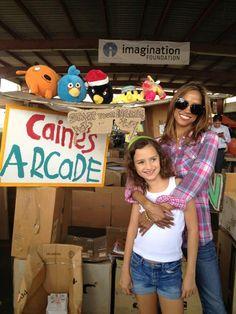 Twitter / REALStaceyDash: @Caines Arcade #CardboardChallenge ...