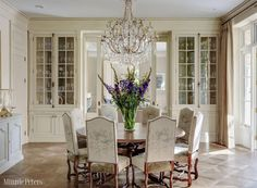 A fine dining room, by Minnie Peters