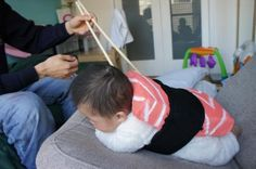 gives whole new meaning to 'munchin' on your little ones....