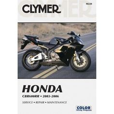 42 best motorcycle repair manuals images on pinterest repair clymer manual honda cbr600rr 2003 2006 fandeluxe Image collections
