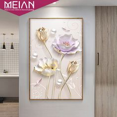 "Meian,Special,Diamond Embroidery,Full,DIY,Diamond Painting ""Tulip Flowers"",Cross Stitch,Diamond Mosaic,Bead Picture,Home Decor-in Diamond Painting Cross Stitch from Home & Garden on Aliexpress.com 