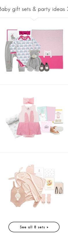 """""""Baby gift sets & party ideas 3"""" by fieldnotes ❤ liked on Polyvore featuring Baby Bling, Minna Parikka, Jellycat, Winter Water Factory and Dolce&Gabbana"""