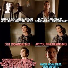"""Teen Wolf Season 3 Episode 9 """"The Girl Who Knew To Much"""" Scott McCall , Ethan , And Stiles Stilinski"""