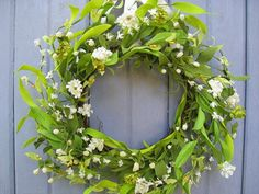 Wedding Wreath - Wedding Decor - White Wreath - Front Door Wreath - Etsy Wreaths - Bridal Shower Decor - Wreath Pair by AWorkofHeartSA, $75.00  This delicate White Wreath would be the perfect decoration for a wedding, bridal shower, anniversary party, birthday or holiday celebration!