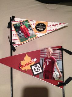 Graduation Pennants for table decorations