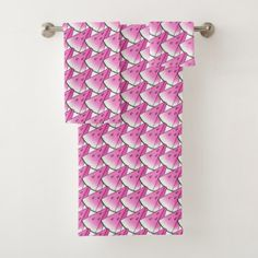 Watermelon slice bath towel set  $49.95  by AngryPillow  - custom gift idea