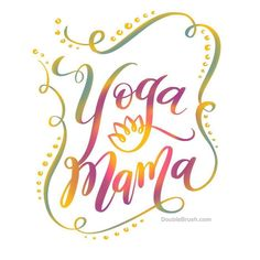 Yoga Mama our new yoga design for moms who do yoga. I incorporated the yoga flower which is a symbol of spiritual development and creation among some of its meanings. Available on a variety of t shirts (now) and home decor prints (soon) at DoubleBrush.com  Just in time for Mother's Day! . . . #yogamama #yogamom #yogalover #yogadaily ##yogaposes #yogapants #yogainspiration #yogachallenge #yogateacher #yogajourney #yogaforlife #yogaeverydamnday #yogaaddict #yogafitness #yogafamily #g…