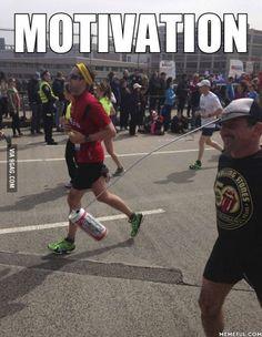Legend says he's still running - http://www.x-lols.com/memes/legend-says-hes-still-running/