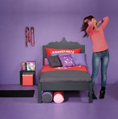 A lot of creative room solutions and practical concepts. We have collected all the room décor ideas and inspirations for girls' room, boys room and baby room. Room Inspiration, Baby Room, Kids Room, Toddler Bed, Room Decor, Couch, Furniture, Inspired, Home