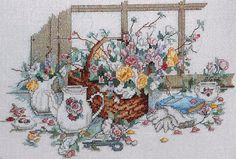 Paula Vaughn POEMS and PROMISES Book 37 - Counted Cross Stitch Pattern Chart - By Leisure Arts