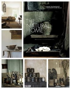 WABI SABI - simple, organic living from a Scandinavian Perspective.: New book: The Natural Home - very Wabi Sabi