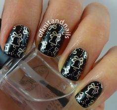 Black and Gold stamping