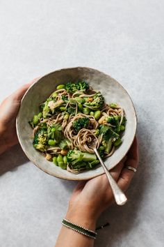 FODMAP friendly buckwheat soba noodle salad