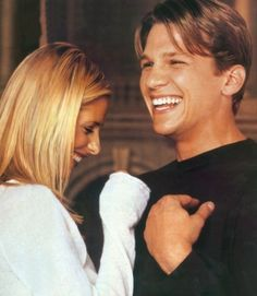 Never mind Sarah Michelle! Hello Marc Blucas, you have got the best smile ever.