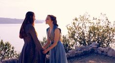 We would be sister, you and I. Margaery Tyrell and Sansa Stark Sansa And Margaery, Margaery Tyrell, Growing Strong, The North Remembers, Natalie Dormer, Sansa Stark, Anne Boleyn, Winter Is Coming, You And I