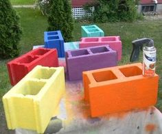 s 11 genius ways to use cinder blocks in your garden, outdoor furniture, repurposing upcycling