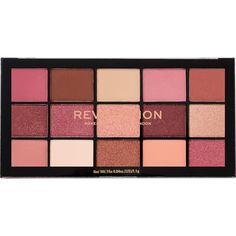 Makeup Revolution - Reloaded Palette in Affection (online only) - beauty and makeup buys - Makeup Eyeshadow Palette, Drugstore Makeup Dupes, Makeup Brands, Makeup Cosmetics, Neutral Eyeshadow, Eyeshadows, Lipsticks, Make Up Palette, Revolution Eyeshadow