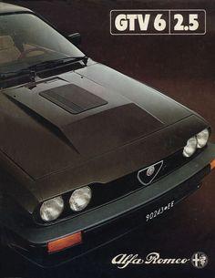 1981 Alfa romeo gtv brochure