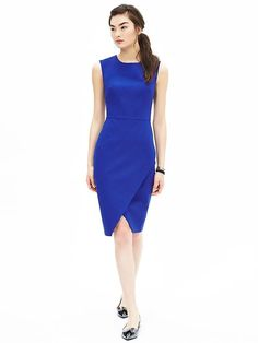 Sloan-Fit Cobalt Cross-Front Sheath....saw it on sale and I should have bought it! Sigh...