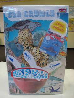 5th And Fabulous: Cereal Box Book Reports