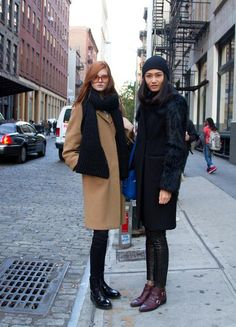 Winter Street Style From New York