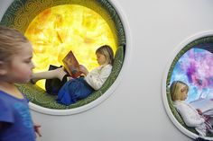Awesome 94 Cozy Public Library Design That Will Make You Stay All Day Long Public Library Design, Kids Library, Modern Library, Public Libraries, Library Ideas, Classroom Layout, Education Architecture, Teen Kids, Nursery School