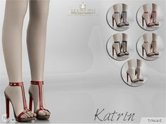 Sexy platform shoes. Found in TSR Category 'Sims 4 Shoes Female'