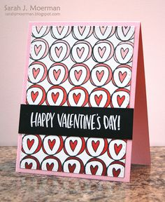 My Impressions: Simon Says Stamp February Card Kit with DIY Patterned Background (& GIVEAWAY!)