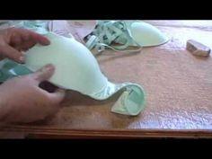 Como Fazer Bojo Encapado em Lycra com máquina doméstica? - YouTube