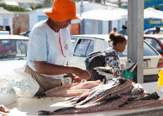 St James & Kalk Bay - the fishermen bringing in their catch. #Africa #SouthAfrica #CapeTown