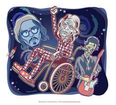 Mick, Keith and Planet Johnny Depp by Ian David Marsden, via Flickr