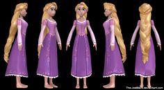 Tangled - Rapunzel: Movie version by The-JoeBlack on deviantART
