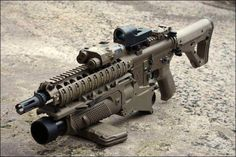 Not a SCAR but with FN's EGLM under barrel grenade launcher. jdm