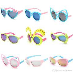 Fashion Kids Sunglasses Children Sunglasses Uv Children Plastic Sun Glasses…