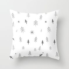 three lives left | o christmas tree pillow