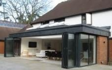Glass Extension, House Extension Design, Roof Extension, Extension Google, Extension Ideas, Zinc Roof, House Plan With Loft, Pergola, Modern Entrance