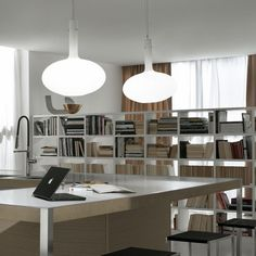 A Tomic, lámpara suspensión de Fontana Arte, Designer Paolo Zani