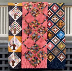 We recently asked what you'd like to ask the 19th-Century Patchwork Divas. Well, their answers are here - and so is their new book: 19th-Century Patchwork Divas' Treasury of Quilts! Discover their favorite block exchanges, their advice for creating your own block exchange, and their tips for perfect piecing - there's a reason why they're divas, after all :)