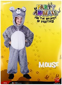 cool       £13.71  Plush Mouse Costume. Jumpsuit with Hood. Costume Sizes Available: Size Age Chest Waist Length Medium 7 - 9 years 27'' - 28.5''...  Check more at http://fisheyepix.co.uk/shop/kids-grey-mouse-plush-hood-fancy-dress-costume-age-7-9/