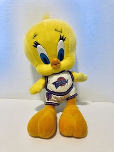 16bcb793346 Vintage Warner Bros Looney Tunes Tweety Bird Space Jam Plush Doll Toon Squad  96, Antique Alchemy