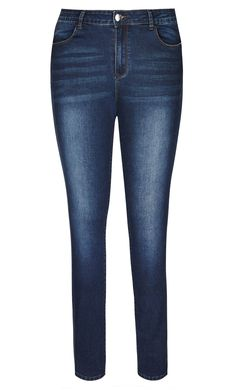 City Chic - SIDE ZIP SKINNY JEANS - Women's Plus Size Fashion City Chic - City Chic Your Leading Plus Size Fashion Destination #citychic #citychiconline #newarrivals #plussize #plusfashion