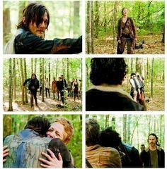 Daryl and Carol The Walking Dead 5x1